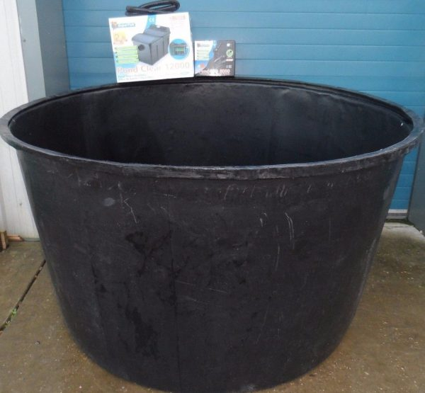 Xl circular koi pond quarantine tank filter uv and for Koi quarantine pond