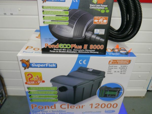 SF-Pond-clear-filter-UV-SF-8000lph-ECO-pump-pipe-clips-ponds-upto-12000L-322533977391