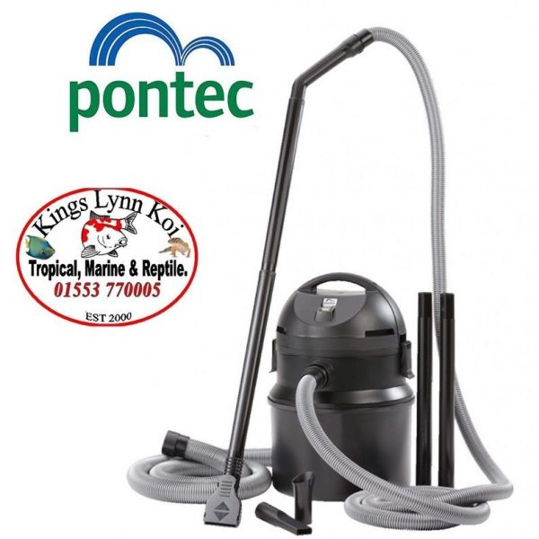 Pontec-by-OASE-Pondomatic-pond-vacuum-hoover-silt-sludge-waste-1400-watts-vac-322569827163